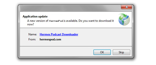 You won't have to worry about finding or installing new versions of HermesPod.<br>The auto-update system will do it for you.